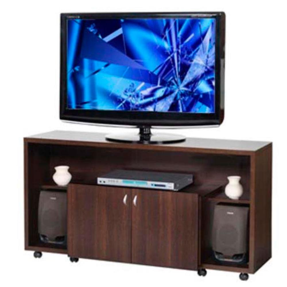 mueble de algarrobo para tv y audio