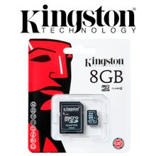 memoria-micro-sd-kingston-8gb-memory-clase-4